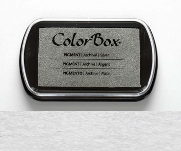 Stempelkissen Color Box Silber