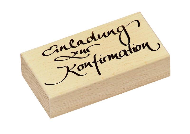 Stempel Einladung Zur Konfirmation