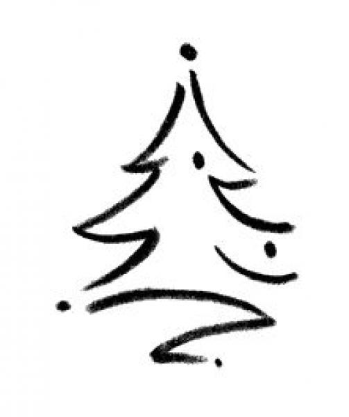 villa zauberbaum weihnachtsstempel mit weihnachtsbaum. Black Bedroom Furniture Sets. Home Design Ideas